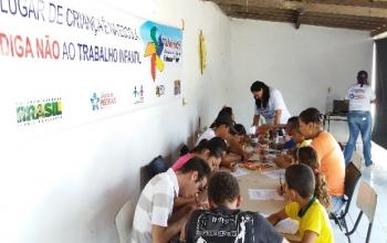 Dia Nacional do Combate ao Trabalho Infantil.