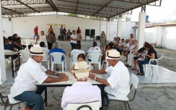 Forró do grupo dos idosos do Serviço de Convivência e Fortalecimento de Vínculos