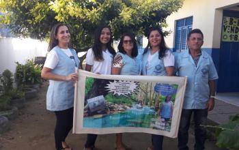 """Projeto """" Cuidar das águas é gerar e manter vidas"""""""