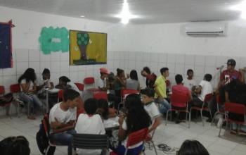 Ação na Escola Municipal Santa Luzia: Setembro Amarelo