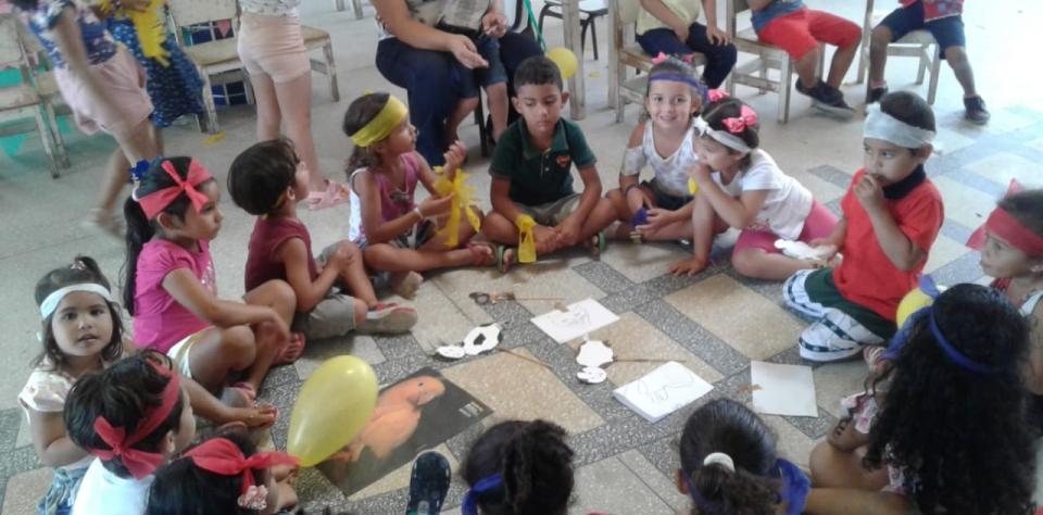 Escolas municipais de Lagoa de Pedras-RN comemoram o dia do estudante com família na escola