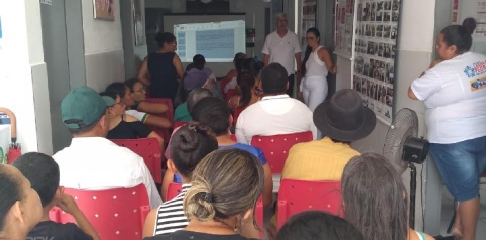 Equipe de Saúde do Mandú, realiza ações com enfase ao janeiro branco.