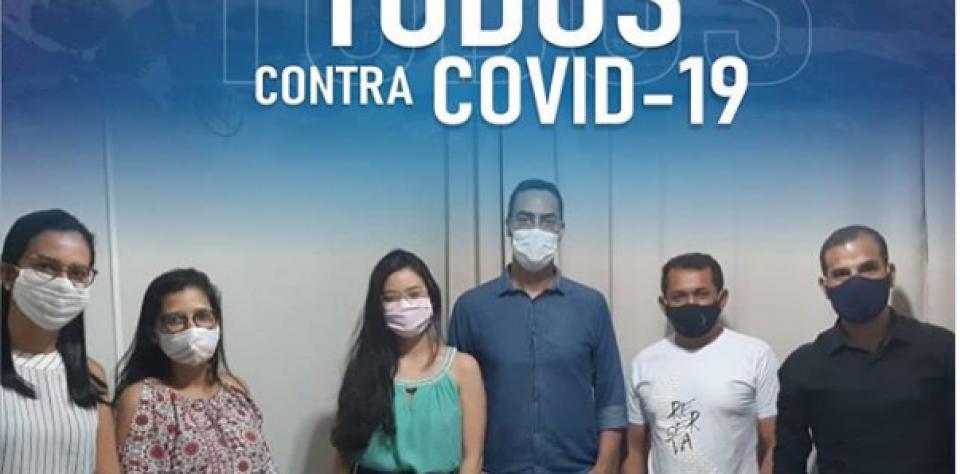 Prefeitura contrata médico, enfermeira e técnica de enfermagem para atender pacientes suspeitos de Covid-19.