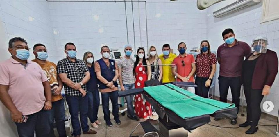 REABERTURA DO CENTRO CIRÚRGICO DO HOSPITAL DE SANTO ANTONIO/RN